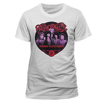 Aerosmith Tour Steven Tyler Joe Perry 1 Rock T-Shirt Ufficiale