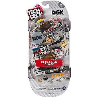 Tech Deck - Ultra DLX 4-Pack Fingerboards - DGK