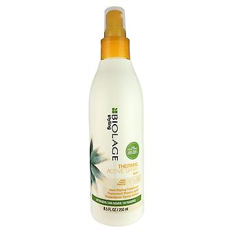Matrix biolage thermal active agave hair spray hold #2 heat styling treatment 8.5 oz no parabens