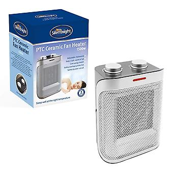Silentnight PTC Ceramic Fan Heater 1500 Watt With Heat and Cooling Settings