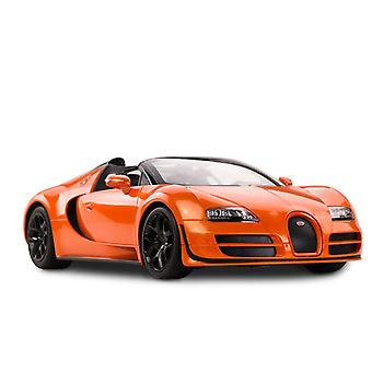 Licensed RC 1:14 Bugatti Grand Sport Vitesse Remote Control Car Toy Orange