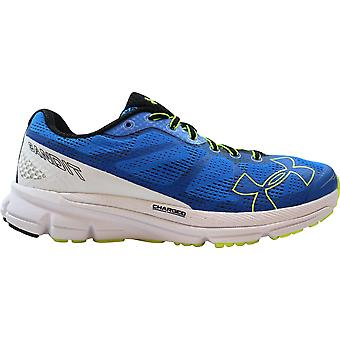 Under Armour Charged Bandit Jet Blue/White-High Visibility Yellow 1258783-405 Men's