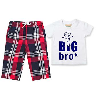 Big Bro Tartan Housut Pyjamat