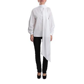 Givenchy Bw60kz111n100 Mujeres's Blusa de Algodón Blanco