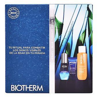 Women's Cosmetics Set Blue Therapy Eye Serum Biotherm (3 pcs)