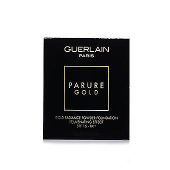 Guerlain Parure Ouro Rejuvenescedor ouro radiance fundação pó spf 15 refil - # 05 Bege Escuro - 10g /0.35oz