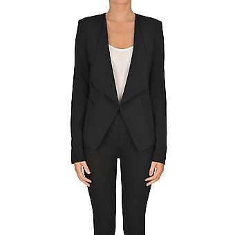 Patrizia Pepe Ezgl065023 Women's Black Polyester Blazer