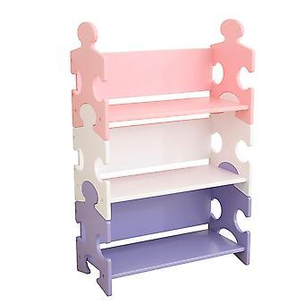 Plank boekenkast KidKraft houten puzzels