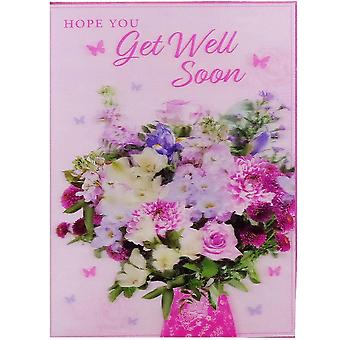 BGC Studios 3d Karte Get Well Soon