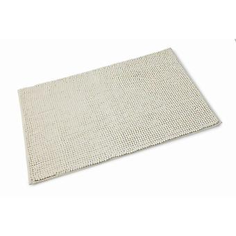 Chloe Vanilla Microfibre Single Bath Mat 50cm x 80cm
