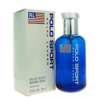 Polo sport för män av ralph lauren 2,5 oz eau de toilette spray
