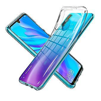 Romp voor Huawei P30 Lite Liquid Crystal Transparant
