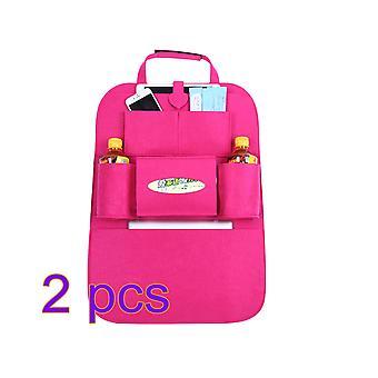 مجموعة من 2 سيارة مقعد منظم سيارة مقعد تخزين حقيبة دائمة مقعد السيارة حقيبة السفر