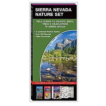 Sierra Nevada Nature Set: Field Guides to Wildlife, Birds, Trees & Wild Flowers of Sierra Nevada (Nature Set)
