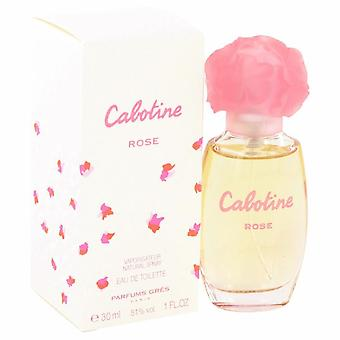 Cabotine Rose Eau De Toilette Spray By Parfums Gres 1 oz Eau De Toilette Spray