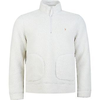 Farah Briars Cuarto Zip Fleece