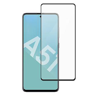 Screen protector Galaxy A51 9H Tiger Glass Muvit Tempered Glass Black Edges