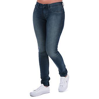 Women's Diesel Livier Super Slim Jegging Jeans in Blue