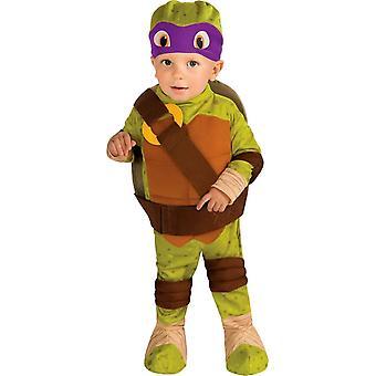 Teenage Mutant Ninja Turtles Donatello småbarn dräkt