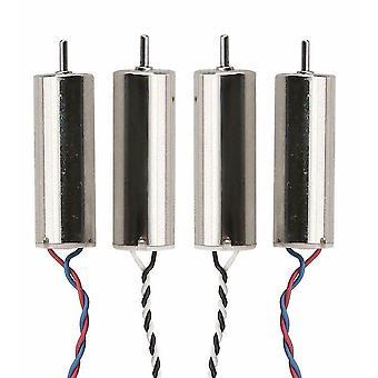 4 Pieces Hubsan X4 H107D H107-A23 Motor Set 2x Clockwise 2x Counter 8mm Quadcopt