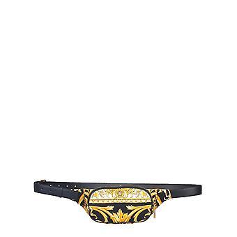 Versace Dfb7630dcast7k41oq Hombres's Bolsa de Nylon Negro
