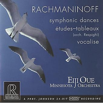 S. Rachmaninoff - Rachmaninoff: Symphonic Dances; Vocalise; Etudes-Tableaux [CD] USA import