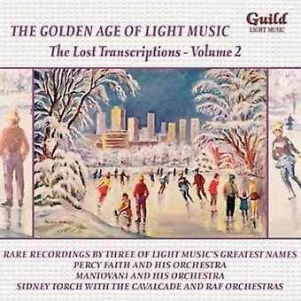 Lost Transcriptions-Vol. 2 [CD] USA import