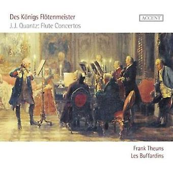 Johann Joachim Quantz - Des K Nigs Fl Tenmeister: J.J. Quantz huilu konsertot [CD] USA tuonti