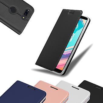 حالة Cadorabo لغطاء حالة Huawei P40 - حالة الهاتف مع المشبك المغناطيسي ، وظيفة الحامل وحجرة البطاقة - حقيبة غلاف الحالة الوقائية لدفتر الحالات القابل للطي
