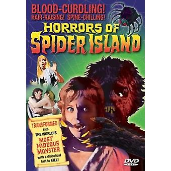 Hämähäkin saaren kauhut [DVD] USA Import