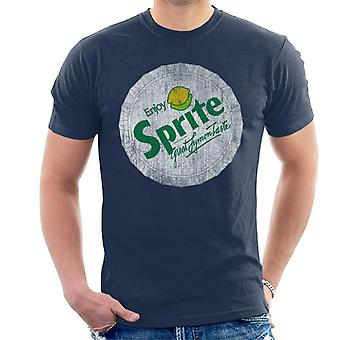 Sprite 80s Retro Logo Bottlecap Men's T-Shirt