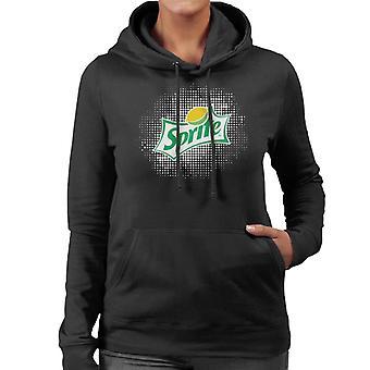 Sprite White Back Lemon Logo Women es Hooded Sweatshirt