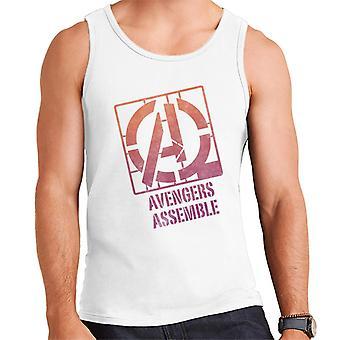 Marvel Avengers koota kaavaimen tyyli logo miesten ' s Vest