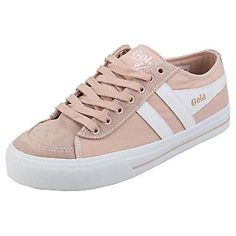 Gola Quota 2 Womens Fashion Trainers in Blossom White