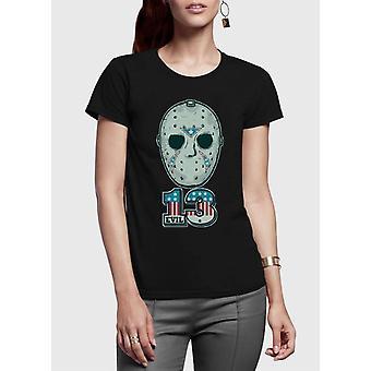 Jason half sleeves women t-shirt