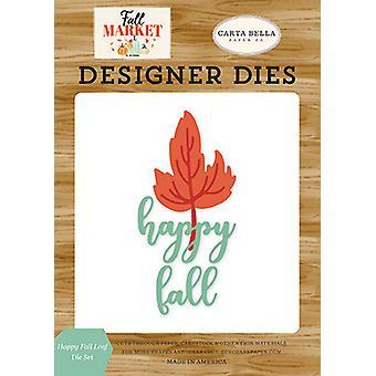 Carta Bella Happy Fall Leaf Die Set CBFAM105043)
