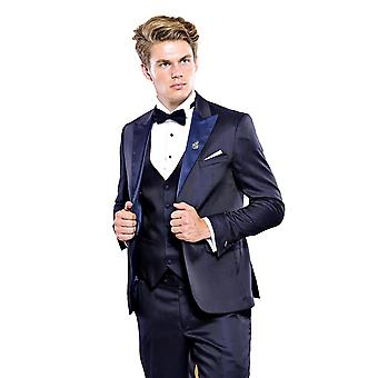 Navy suit for wedding | wessi