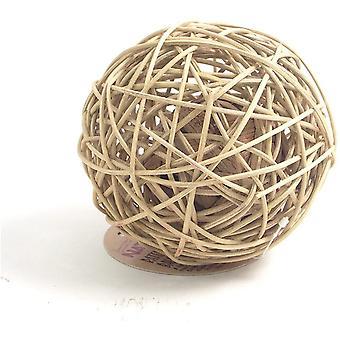 Naturals Rattan Wobble Ball - Nagy
