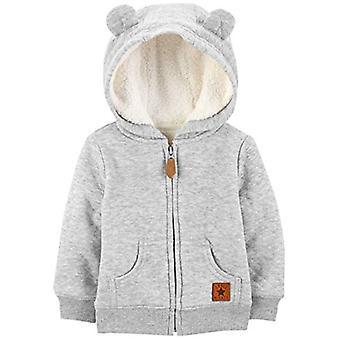 Simple Joys de Carter's Baby Neutru Hooded Pulover Jacheta cu Sherpa Căptușeală ...