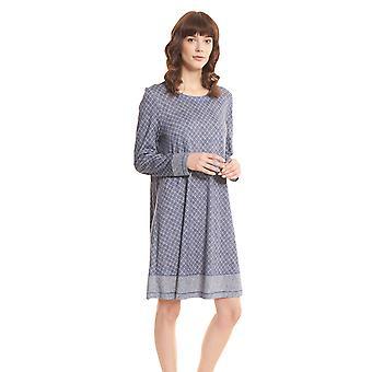 Rösch Pure 1203560-16544 Kvinnor's Tweed Check Nightdress