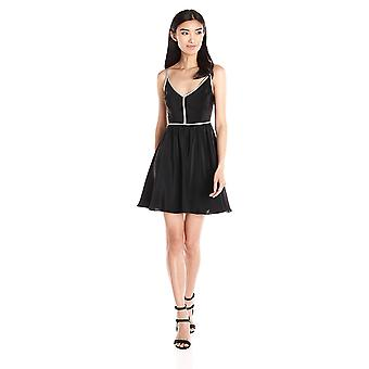 Amanda Uprichard kvinner ' s skrutrekker kjole, svart, liten
