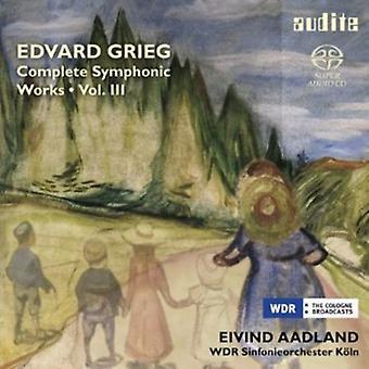 グリーグ - グリーグ: 完全な交響的作品、Vol. 3 [SACD] USA 輸入