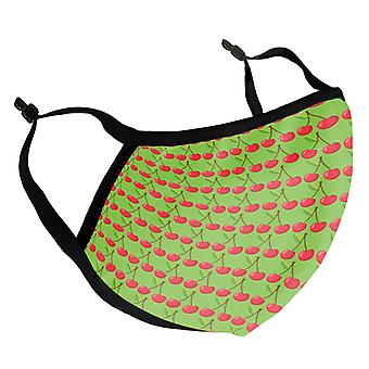 Cherry Pattern Adult Reusable Fabric Face Mask