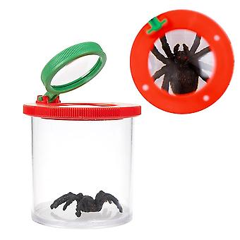 Children's Educational, Portable Bug Box Magnify Insects Viewer 3x-6x