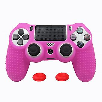 Anti-slip Silicone Cover Skin Case For Sony-playstation Dualshock 4 Ps4/ds4 Pro Slim Controller & Stick Grip