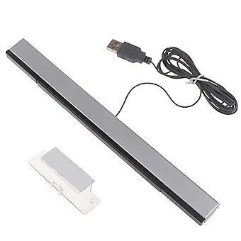 Game Accessories-wii Sensor-bar Wired Receivers Ir Signal Ray Usb-plug Replacement For Nitendo-remote