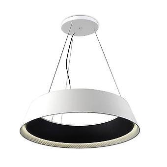 Leds-C4 GROK - LED 1 vaalea suuri kattoriipus valkoinen, musta