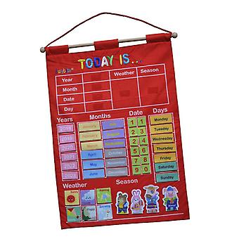 Wall Hanging Learning Calendar-weather, Season, Date, Months, Year, Day's
