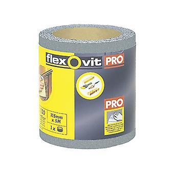 Flexovit High Performance Finishing Sanding Roll 115mm x 5m 320g FLV26420