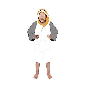 Official Star Wars Porg Kids Dressing Gown / Bathrobe